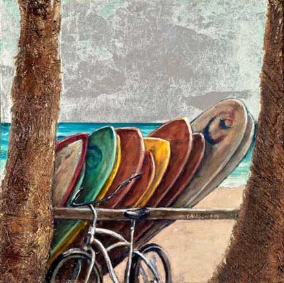 Art by Taryn Alessandro: Beach Parking