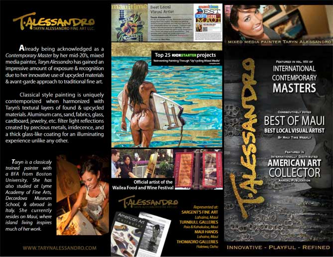 Taryn Alessandro Brochure page 2