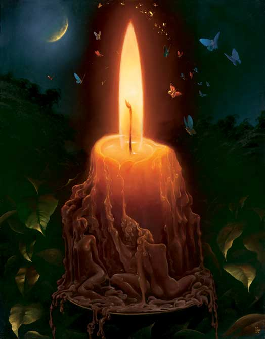 Image result for colored candles fantasy art