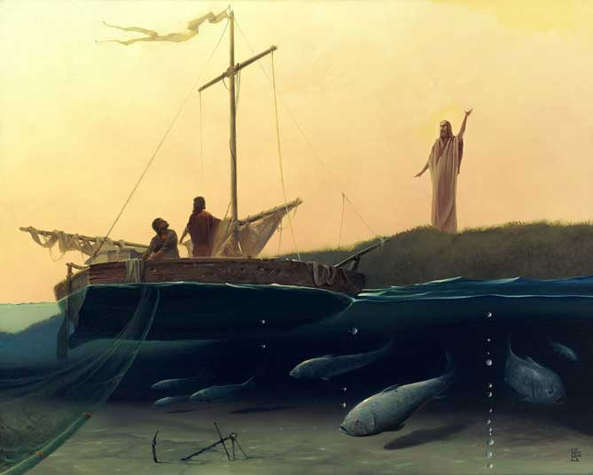 Fishers of Men by Victor Bregeda