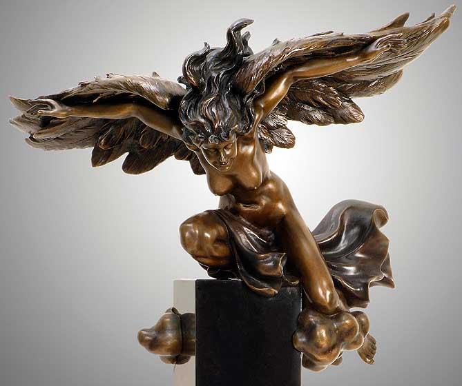 Protection - Bronze Sculpture