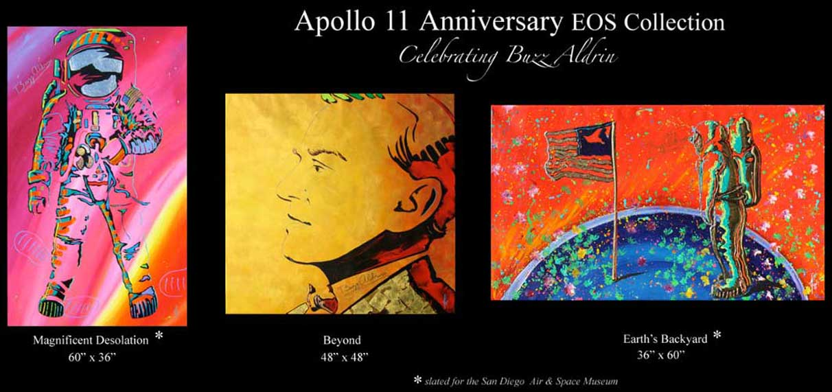 Apollo 11 EOS Series - Tribute to Buzz Aldrin